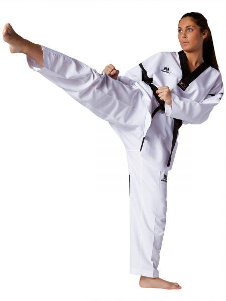 Taekwondo Anzug Revolution Black Mesh
