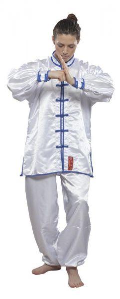 WuShu Tai-Chi Anzug weiß