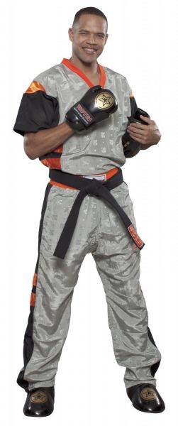 Kickbox Mesh Uniform TOPTEN Neon Limited Grau-Orange