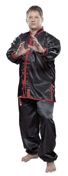 WuShu Tai-Chi Anzug schwarz