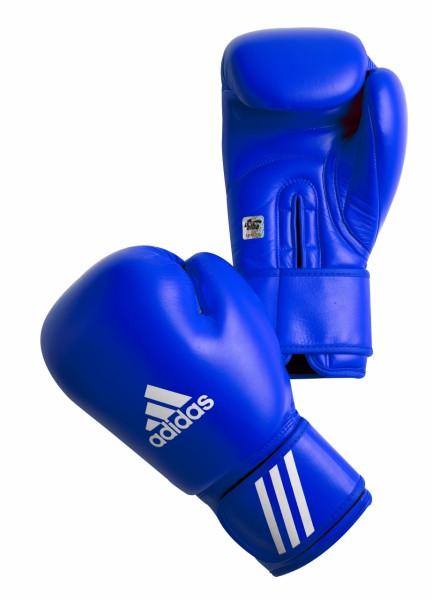 Adidas Boxhandschuhe 10 oz mit AIBA Zertifizierung blau