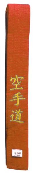 Roter Danrho Seidengürtel Karate
