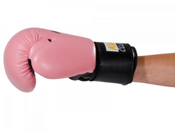 KWON 8 oz Boxhandschuhe für Mädchen & Frauen pink seite
