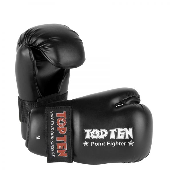 Boxhandschuhe Pointfighter von Top Ten in schwarz