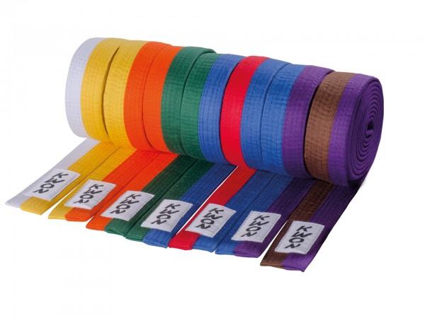 KWON Budo-Gürtel zweifarbig