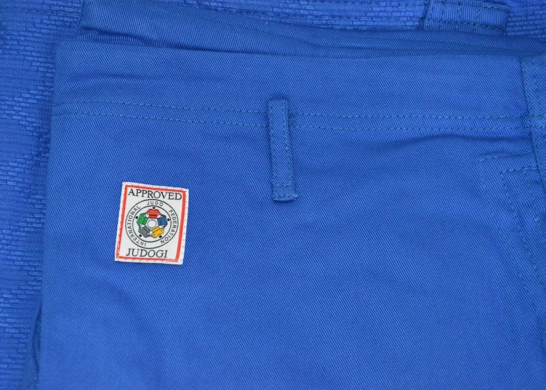 Judoanzug MATSURU Judo IJF 2015 MONDIAL Slim Fit blau ca  750gr/qm