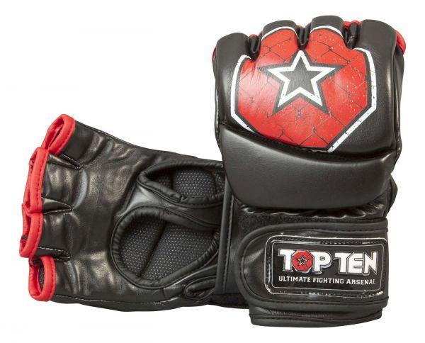 Ultimate MMA Fight Gloves Top Ten schwarz