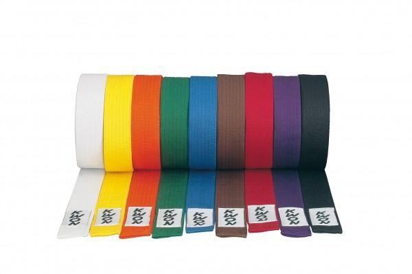 KWON Budogürtel versch. Farben und Längen Judo Karate Taekwondo