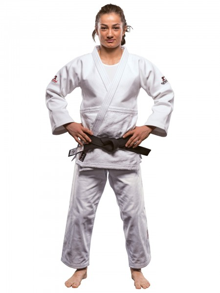 Weißer Danrho Judogi Ultimate 750 IJF