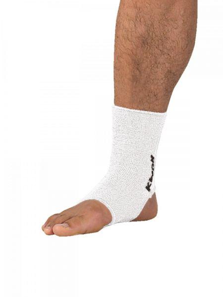Elastische Fußbandage weiß