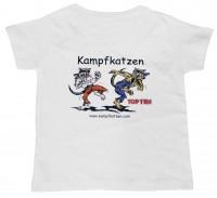 TOP TEN Kinder T-Shirt KAMPFKATZEN