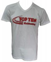 TOP TEN T-Shirt mit V-Ausschnitt Kickboxing