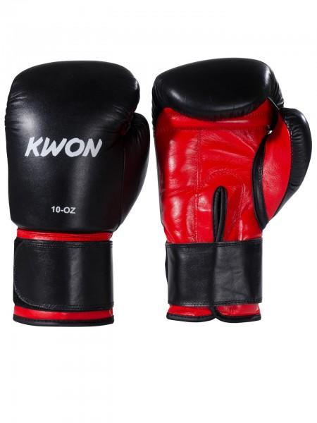 KWON Vollkontakt-Boxhandschuhe Knocking Rot