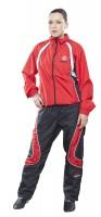 HAYASHI Trainingsanzug für Kinder rot / schwarz Gr. 128