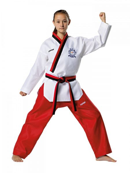 KWON Poomsae Taekwondo Poom Anzug für Mädchen mit WT-Zulassung