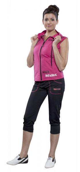 Jogginghose Women von Top Ten in Schwarz-Pink