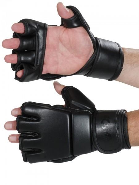 Schwarze MMA Handschuhe mD