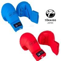 TOKAIDO Karate Faustschützer ohne Daumen (WKF, Restposten)