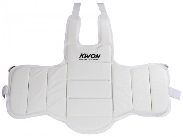 Weiße KWON Karate Trainingsweste 1