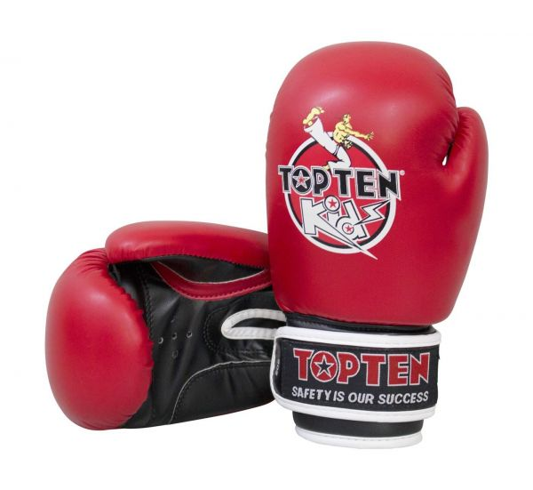 Boxhandschuh Kids 2016 von Top Ten in Rot