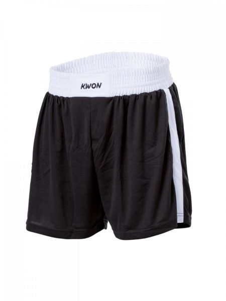 San Da Shorts Schwarz-Weiß