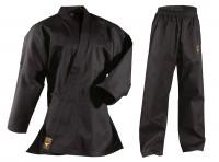 Schwarzer DANRHO Kinder Ju-Jutsu Anzug Asia Shiro 9oz