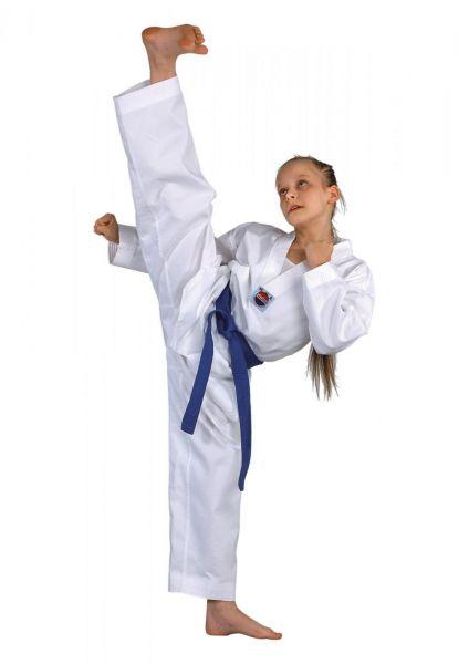 Weißer Dojo-Line Tarkwondo Anzug Dobok von Danrho