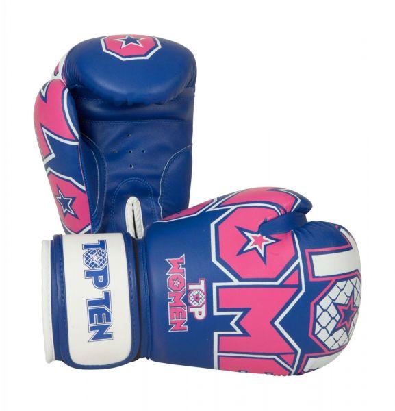 TOP TEN 10 oz Boxhandschühe für Frauen Woman