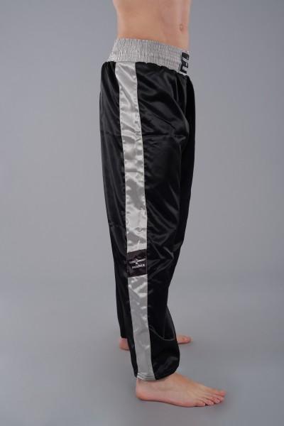 PHOENIX Kickboxhose TOPFIGHT, schwarz-grau  Gr. 120-200cm