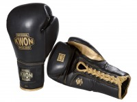 KWON 16 oz Sparring Boxhandschuhe mit Schnürung