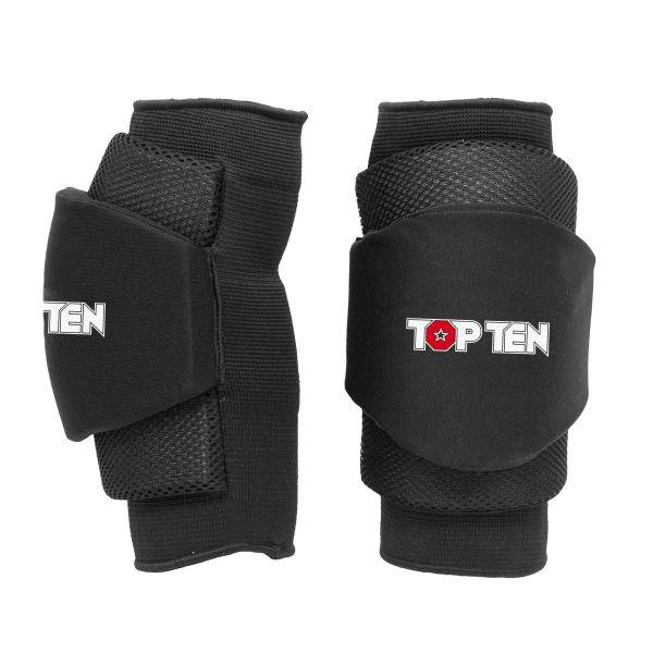 Knie- und Ellbogenschoner von Top Ten schwarz