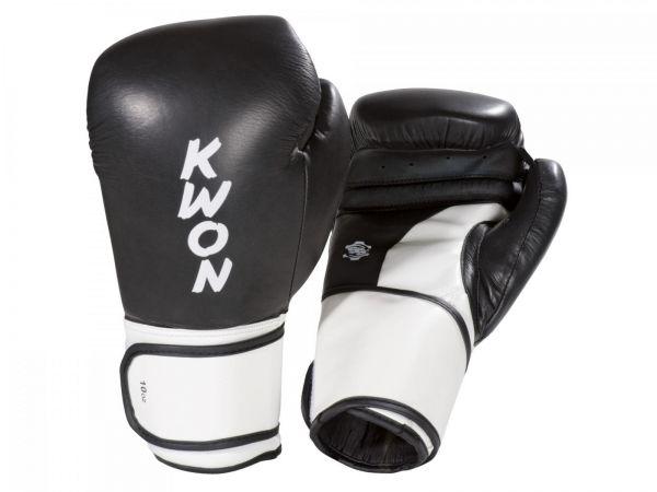 Boxhandschuh Super Champ KWON in Schwarz-Weiß
