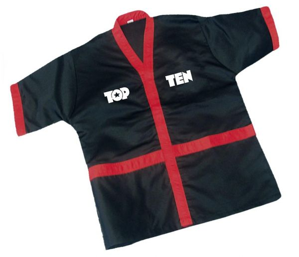 Corner Jacket von Top Ten in Schwarz-Rot