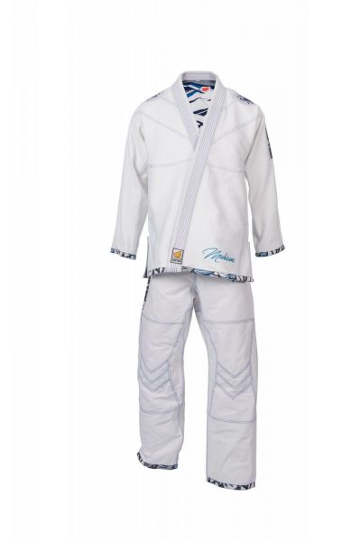 Brazilian Ju-Jutsu Anzug Mohicans in Weiß