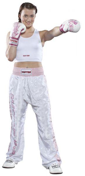 Damenbrustschutz Boxen Hartplastik Top Ten Weiß