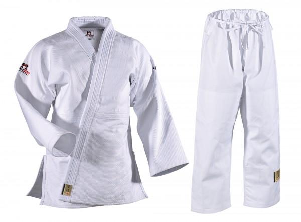 Weißer Danrho Judoanzug Ultimate Gold