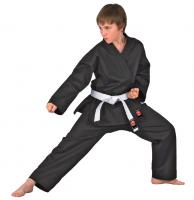 Schwarzer DANRHO Kinder Karateanzug Dojo-Line