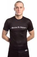 TOP TEN MMA Rash Guard Morituri Te Salutant - kurzärmlig