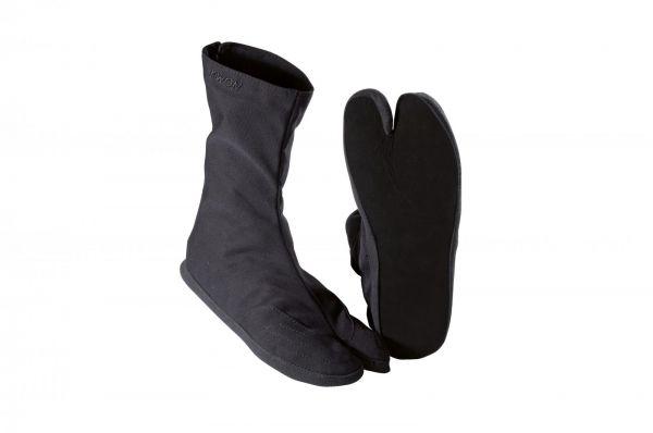 Indoor Ninja Tabi Schuhe von KWON in Schwarz