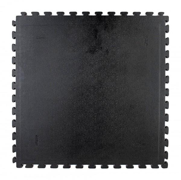 Schwarze Steckmatte mit Noppenstruktur von KWON