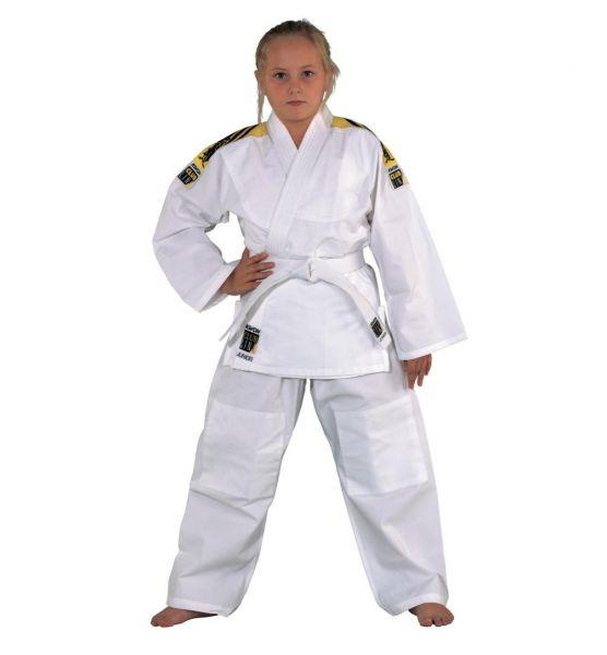 Weißer Judoanzug Junior von KWON Club Line