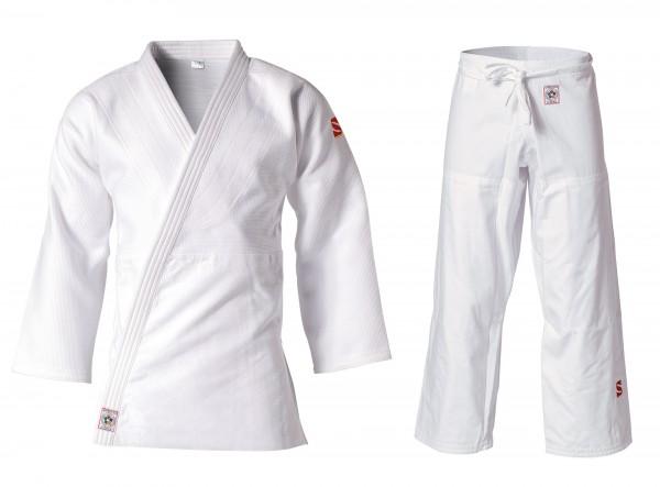 Weißer Judogi JOF von KUSAKURA mit IJF-Zulassung