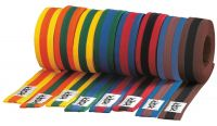 Dreifarbiger Taekwondo Judo Karate Gürtel - Viele Farben - versch. Längen