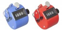 TOP TEN Punch-Kick Punktezähler Set rot / blau