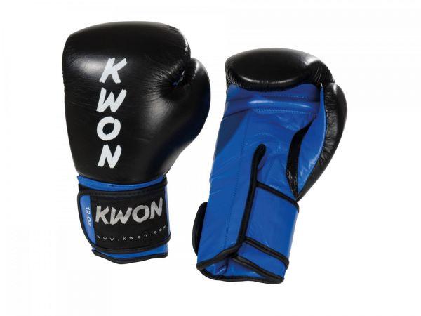 Kickboxhandschuh KO Champ KWON Blau