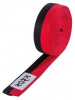 Schwarz-roter KWON Taekwondo Gürtel für Inhaber des Poom-Grades
