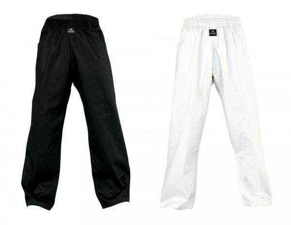 Schwarze und weiße Danrho Swinger Hose