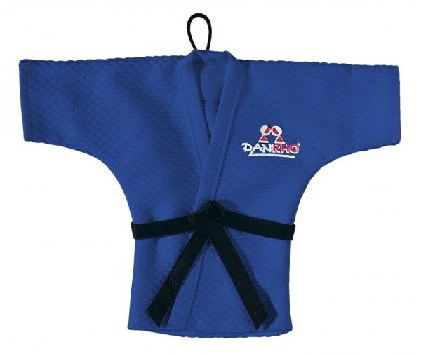 Blauer DANRHO Mini Kampfsport-Jacke zum aufhängen