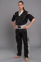 PHOENIX Pointfighting Anzug, schwarz-grau Gr. 140-200cm