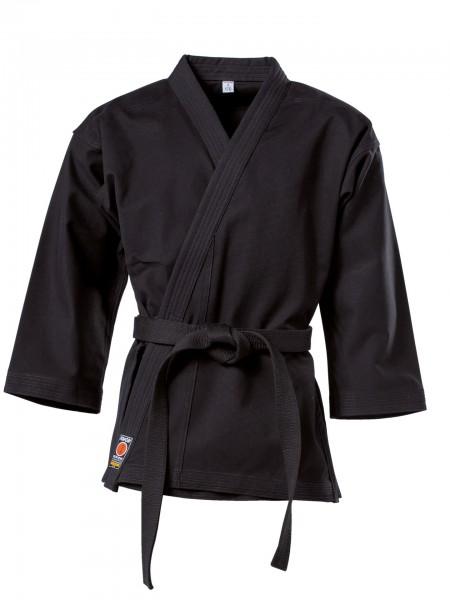 Schwarze KWON Karatejacke Traditional 12 oz